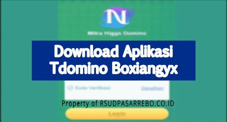 download aplikasi Tdomino Boxiangyx
