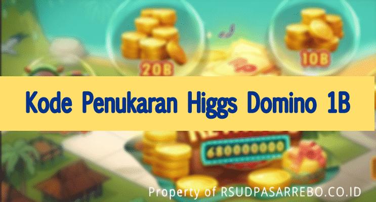 kode penukaran higgs domino 1b