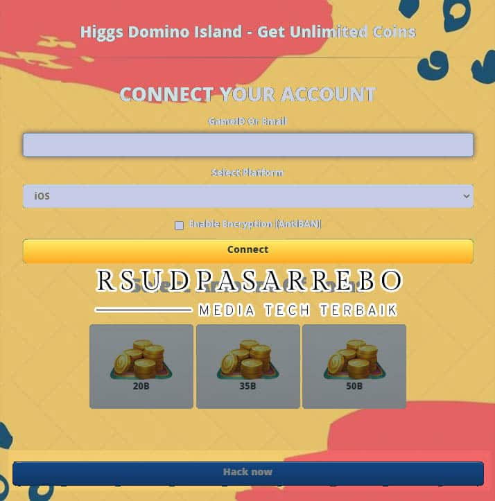 Cara Menggunakan Situs Vhack me hd Higgs Domino